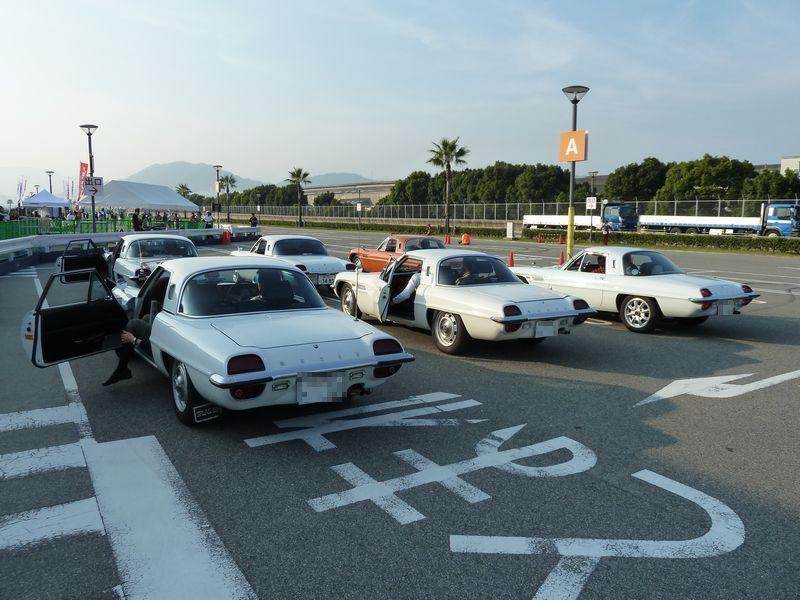 Mazda Cosmo Sport, stary japoński sportowy samochód, kultowy, klasyk, oldschool, piękny design, zdjęcia, 日本車, スポーツカー, クラシックカー, マツダ