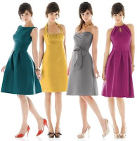 Alfred Sung Bridesmaid Collection