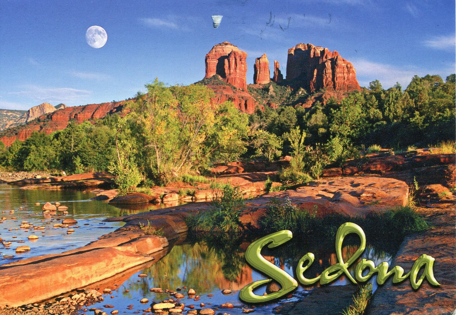 Orphaned Postcard Project: Sublime Sedona
