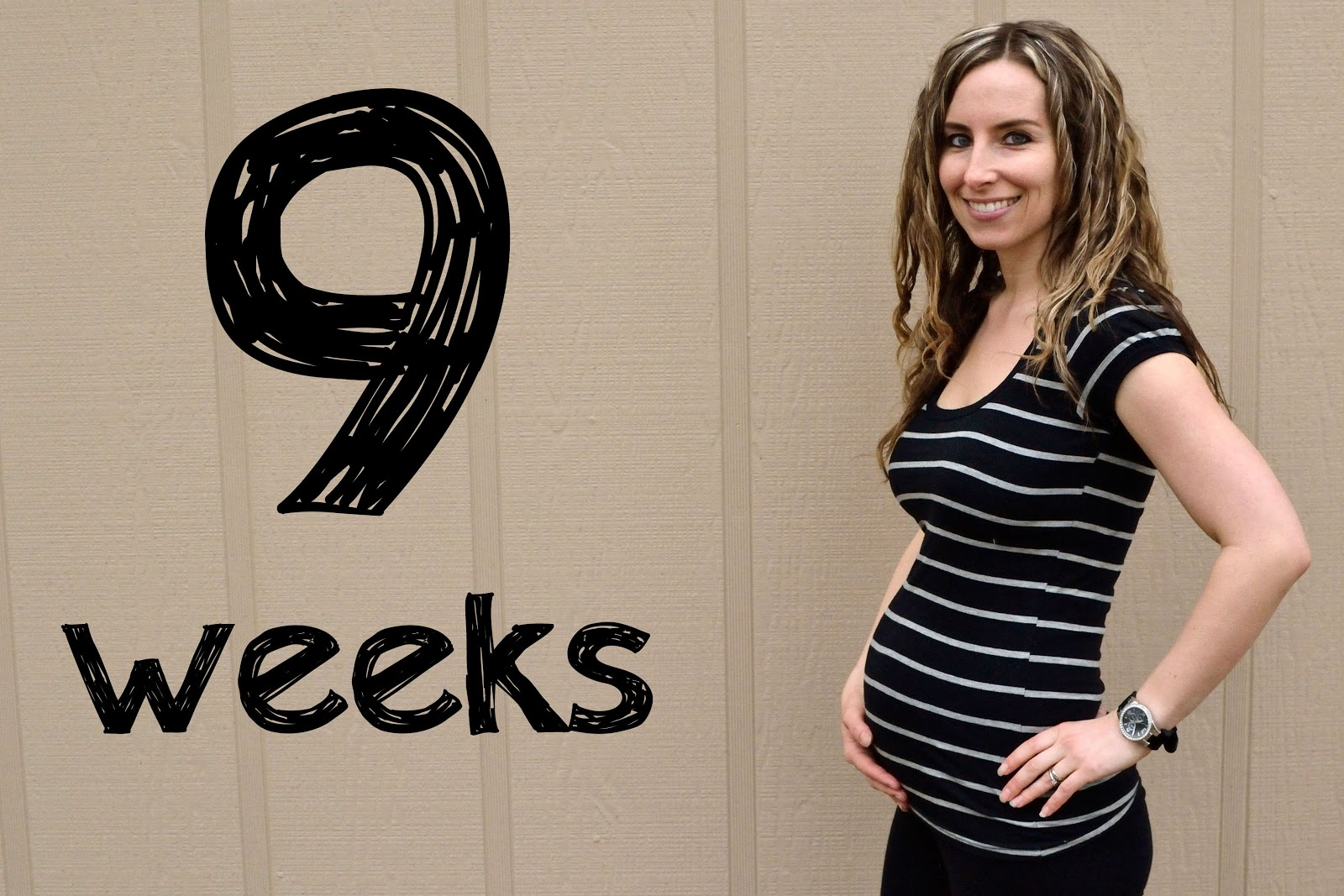 9 Weeks Pregnant Belly Twins