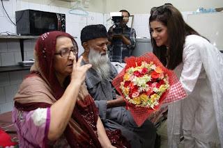 Wrong Number Team Visits Edhi Center Karachi sohai ali abro, Danish taimoor, janita asma, yasir nawaz, danish nawaz