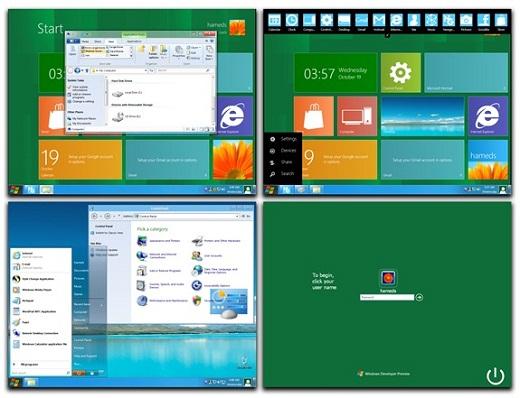 Windows 8 theme for XP Windows 8 Theme Pack Untuk Windows XP