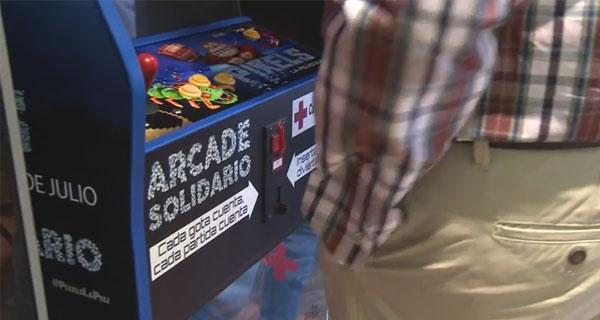 Arcade Solidario Pixel