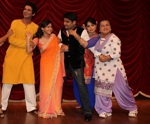 Family of Bittu Sharma in Comedy Nights with Kapil: Gutthi, Manju, Bittu, Bua, Dadi