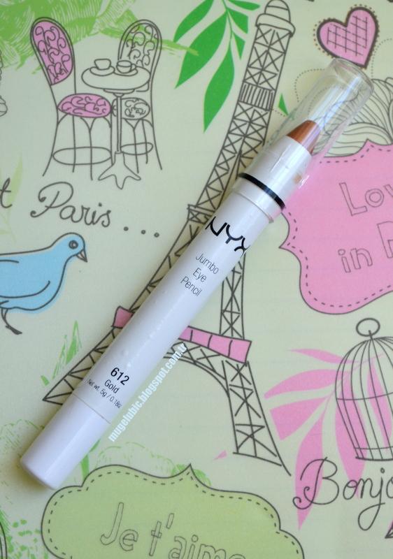 NYX Jumbo Eye Pencil, Gold, Göz Kalemi