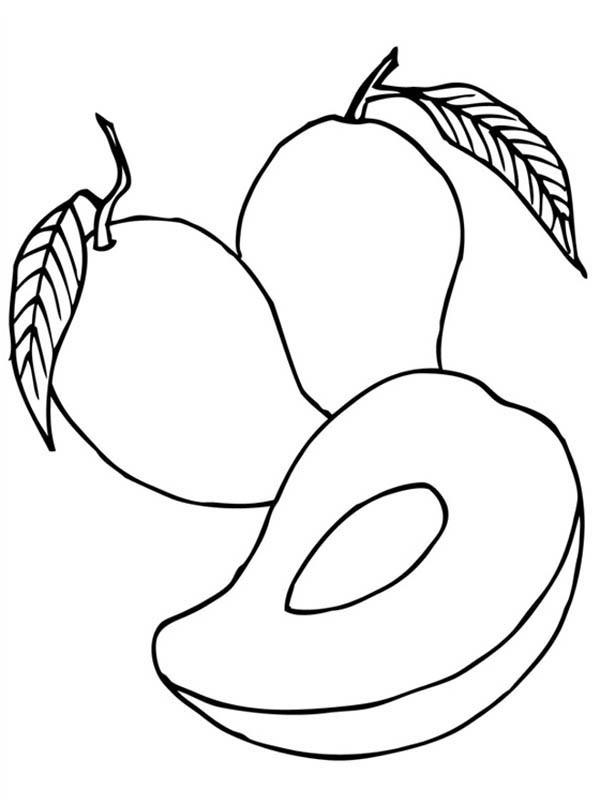 desenhos para colorir e imprimir  desenhos de frutas para