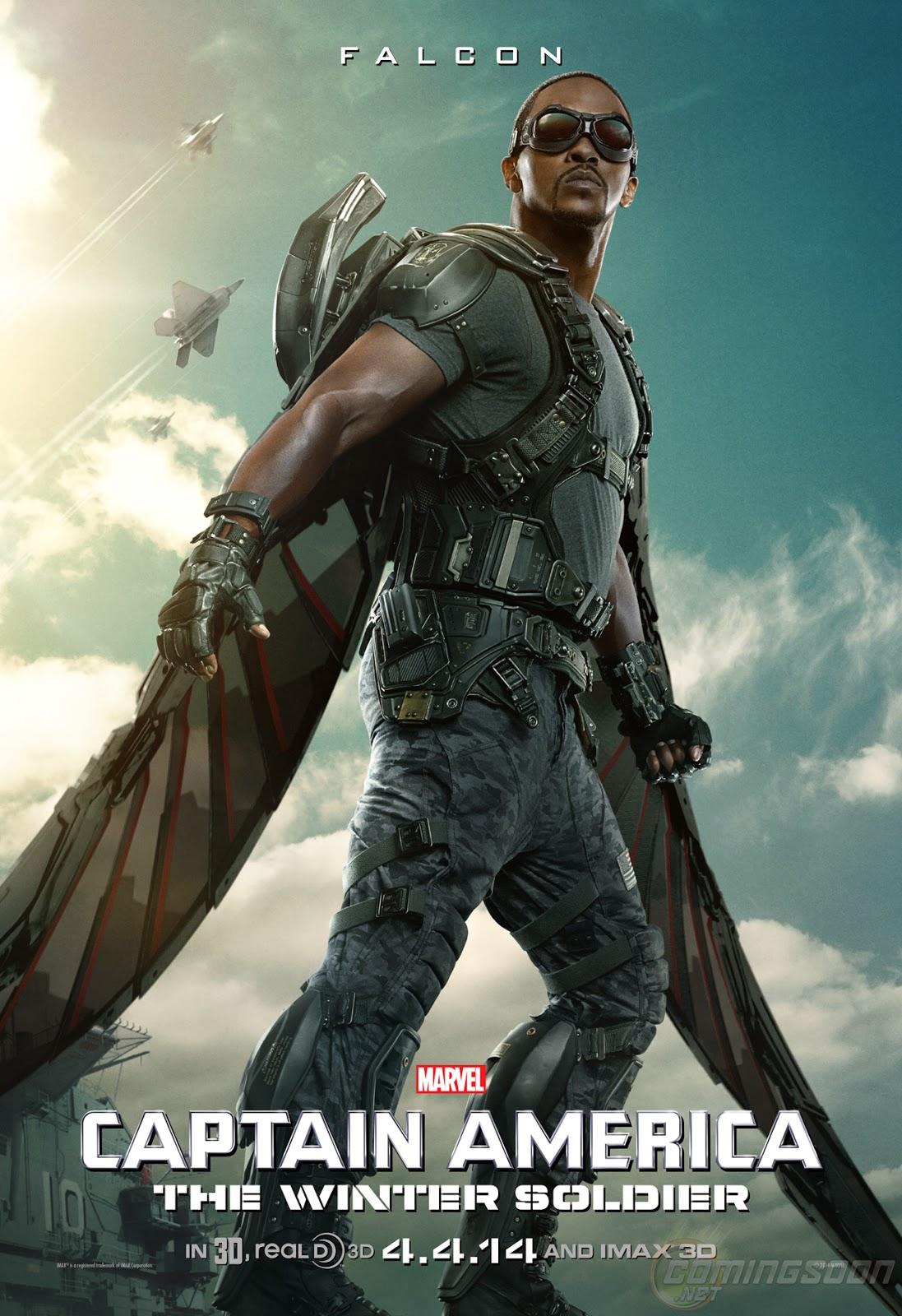 Poster - Halcón en Capitán América: El soldado de Invierno