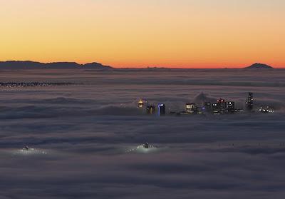 Ciudades conquistadas por la niebla - Vancouber