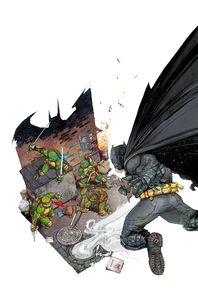 Ideal All the Batman Teenage Mutant Ninja Turtles crossover covers I could find I wonder if this will be any good