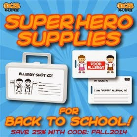 OK2BPNUTFREE - Save for back to school!