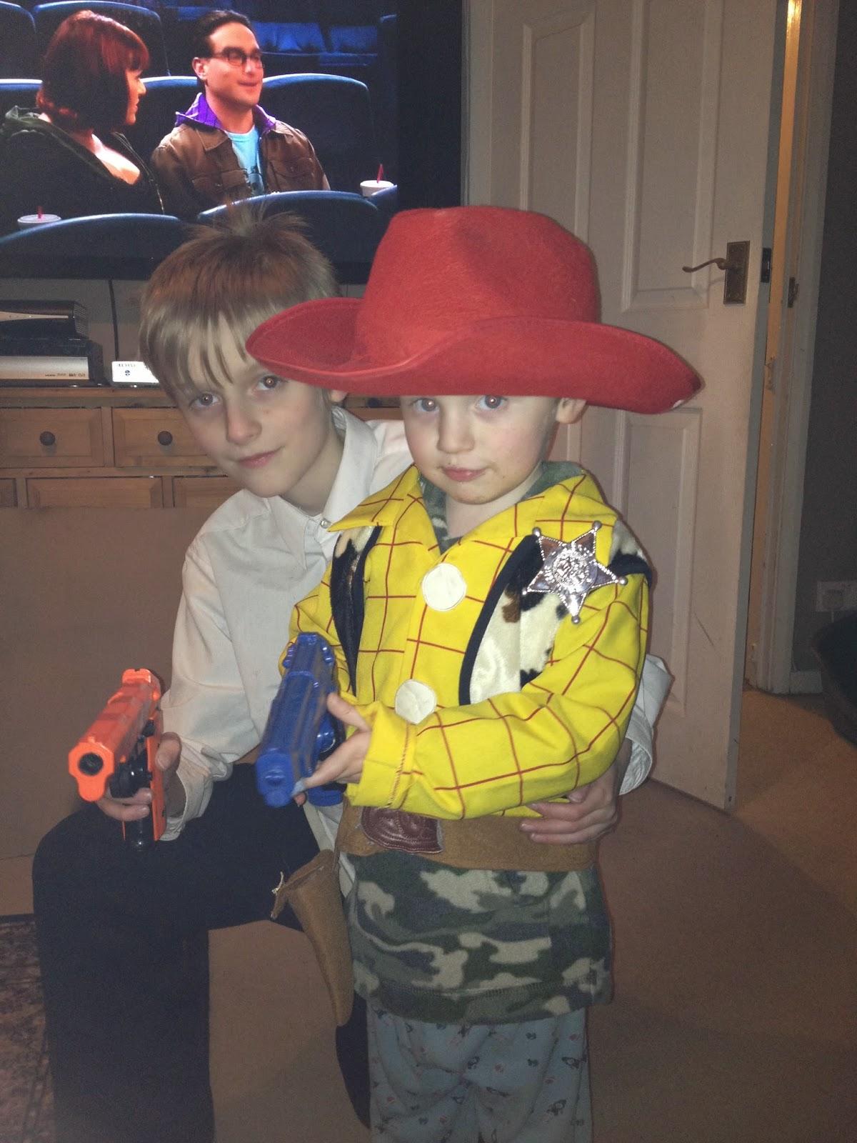 children with toy guns