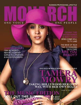 Tamera Mowry Monarch Magazine