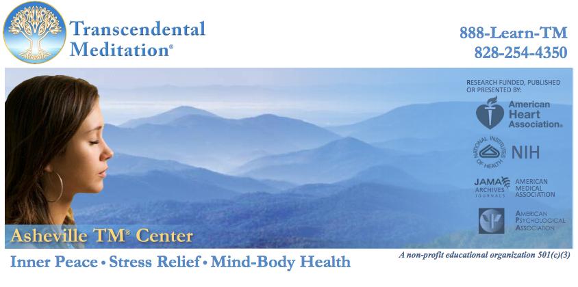 MeditationAsheville.org • Transcendental Meditation Courses • Free Introductory Lectures