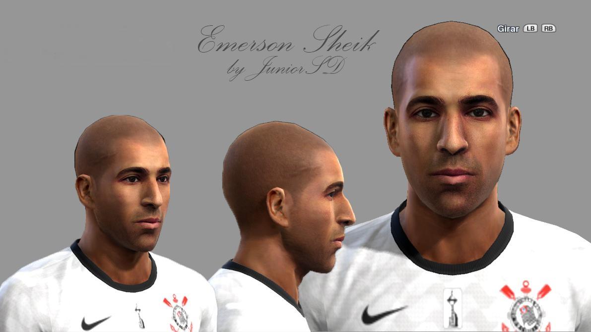Emerson Sheik Face - PES 2013