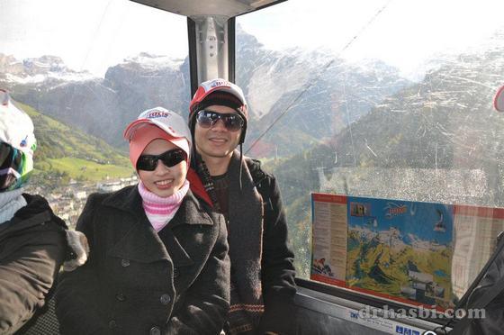 Melancong ke Mount Titlis Switzerland bersama Sahajidah Hai-O