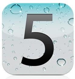 iOS 5 Logo Screen Shoot on Update Jailbroken iPhone