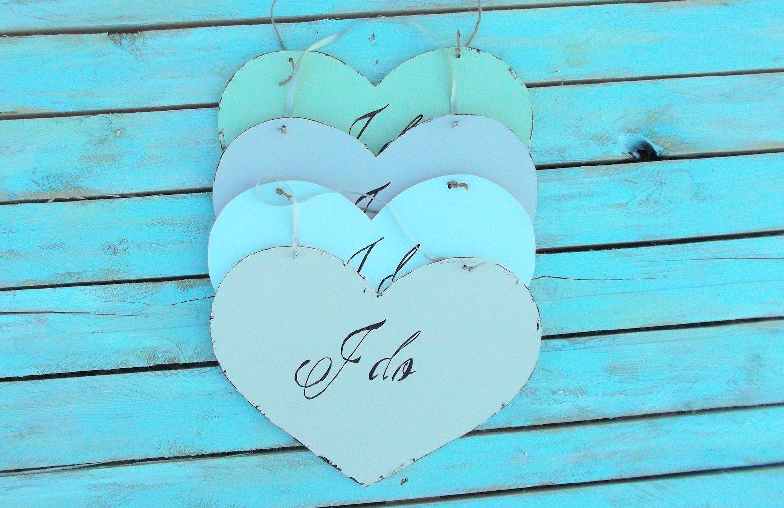 Placute nunta KOFI - decoratiuni nunta