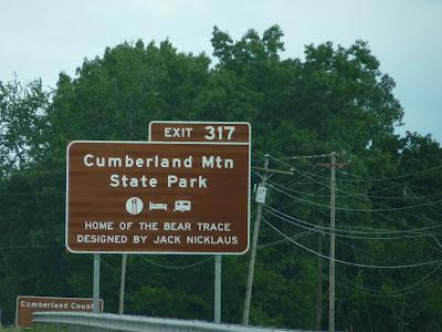 Cumberland park sign