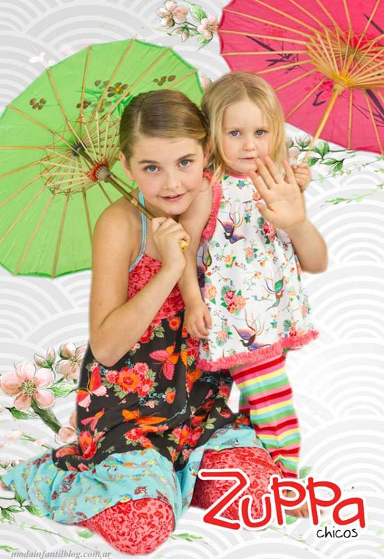 zuppa ropa para niñas primavera verano 2014