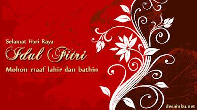 Kartu Ucapan Lebaran Idul Fitri 2013/1434 H