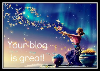 Premio your blog is great da La borsa di Mary Poppins