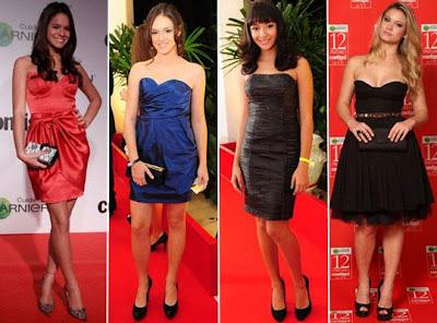 vestidos de atrizes brasileiras
