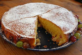 Пирог с крыжовником