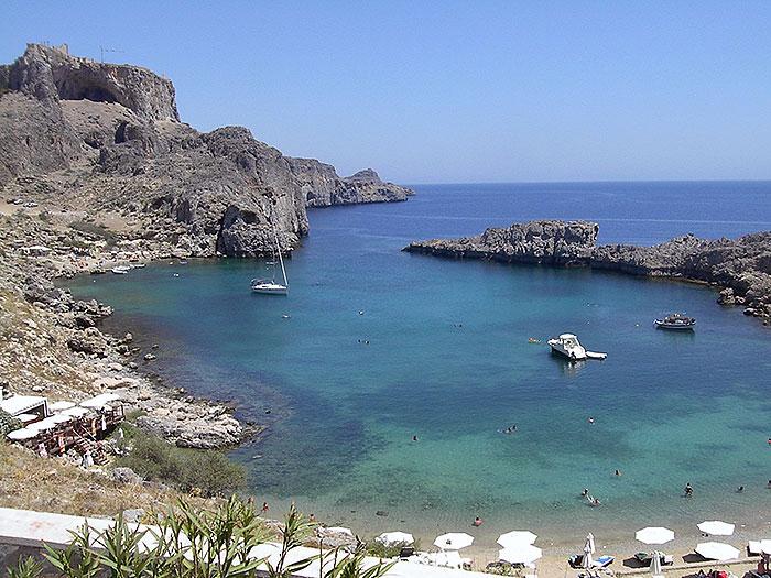 Rhodes Beaches Rodos Best Beaches Greece ISLANDRHODES