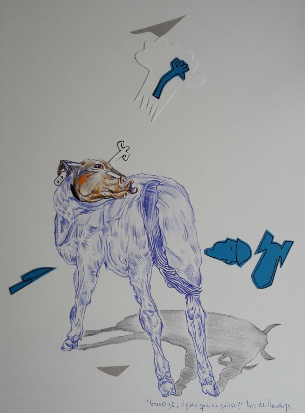 """Dibujos """"Vicios y costumbres"""" de la serie BOLIGRAFÍAS"""