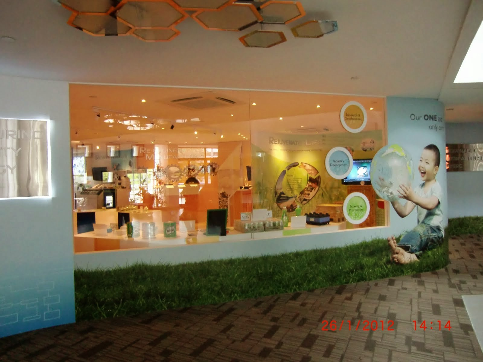 Creating Display Area / Exhibits