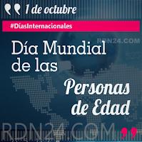 Día Mundial de las Personas de Edad #DíasInternacionales