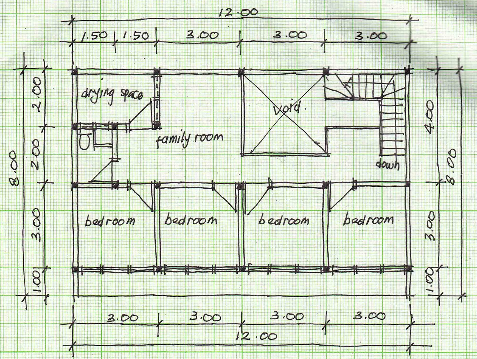 Boarding house plans beautiful houses pictures for Housing blueprints floor plans