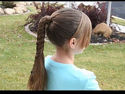 Cute Little Girl Ponytail Hair Styles