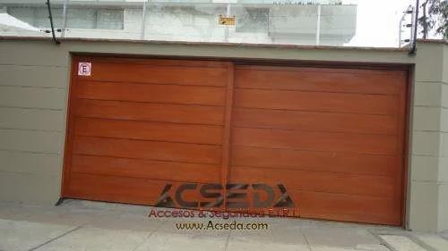 Proyectos y servicios generales para empresas comercios for Portones de madera modernos