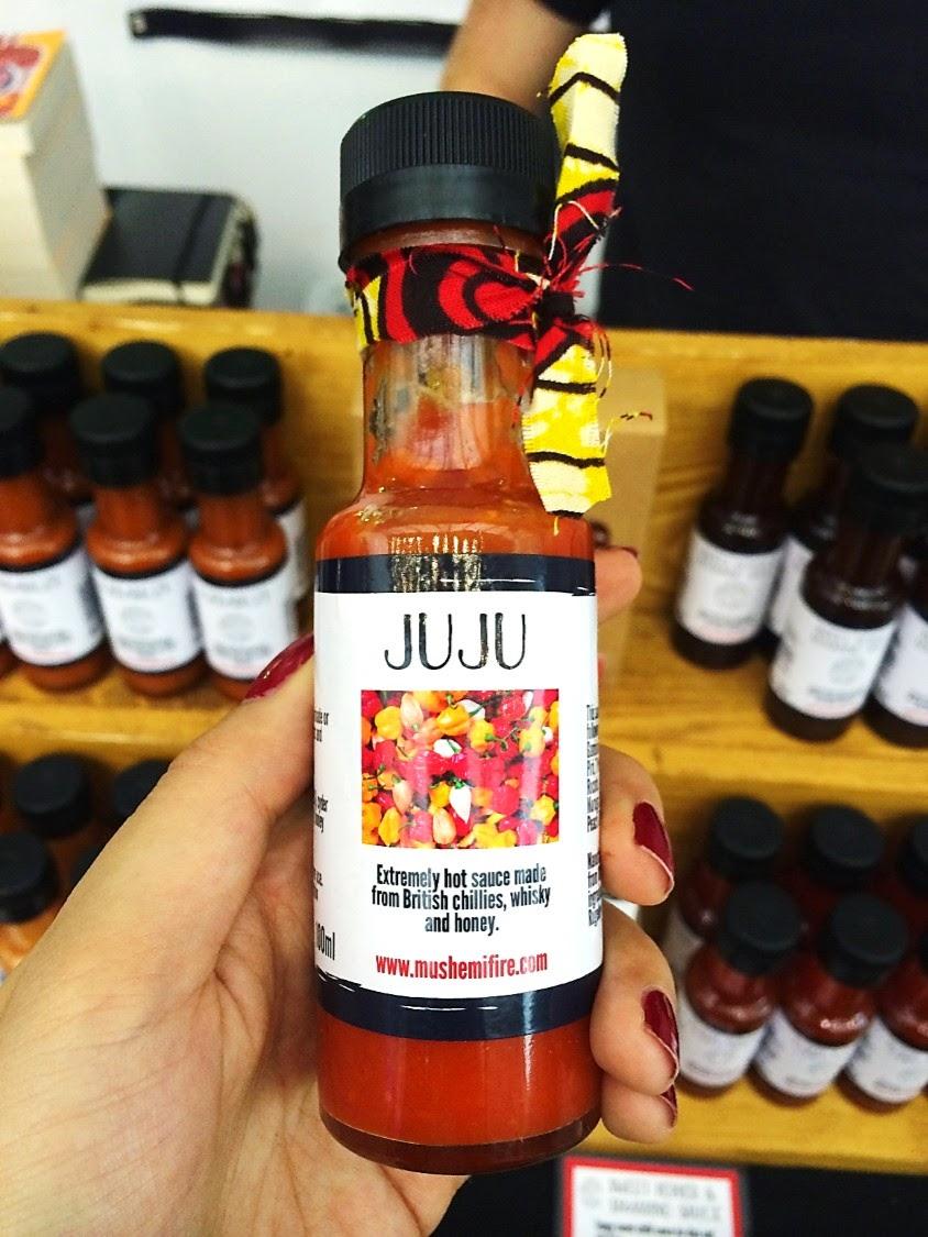 hot sauce sample bottle