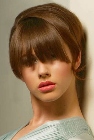 bangs hairstyles teen girls