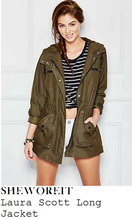 stacey-solomon-khaki-army-jacket-radio-2