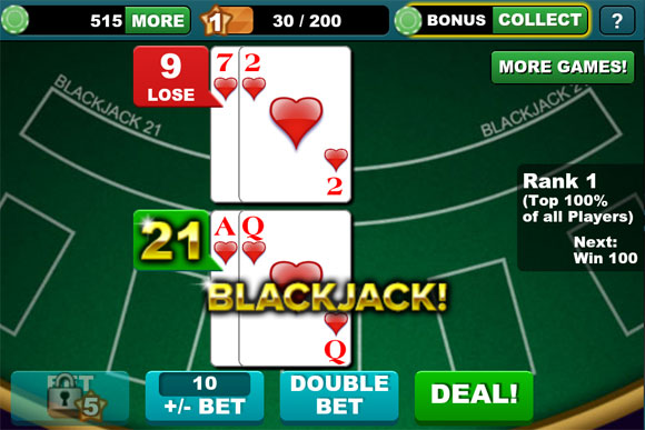 play blackjack free online for fun