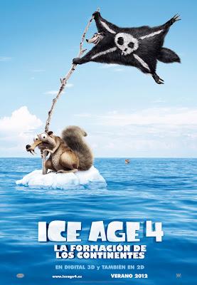 Primer trailer de 'Ice Age 4: la formación de los continentes'