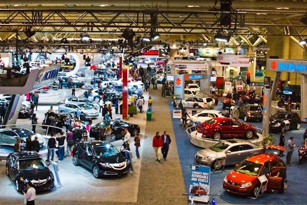 auto cars show of Toronto