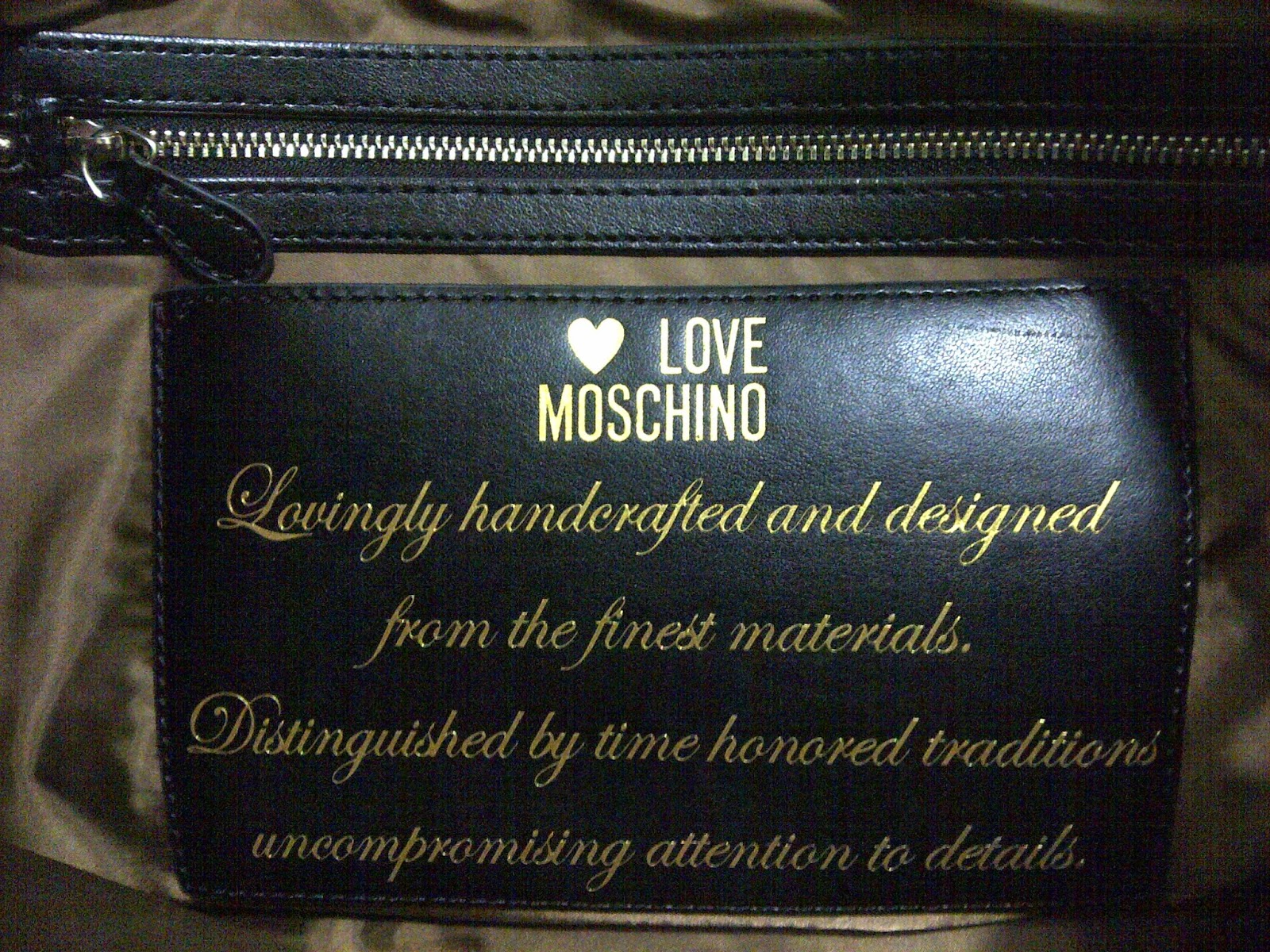 Love Moschino Tote Bag details