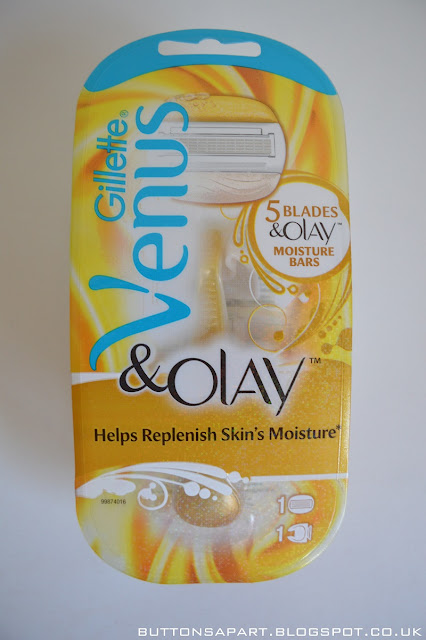 a picture of the gillette venus & olay razor