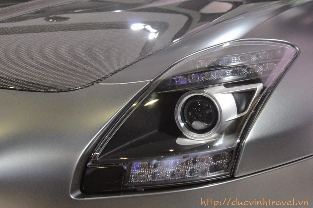 chú xế SLS AMG GT Final Edition độc nhất Việt Nam
