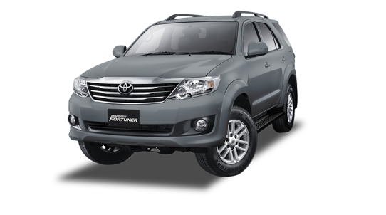 Grand New Fortuner Dark Grey Mica Metalic