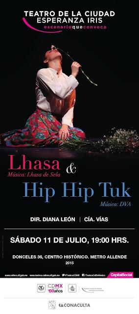 Danza contemporánea desde lo musical y lo lúdico en el Teatro de la Ciudad Esperanza Iris