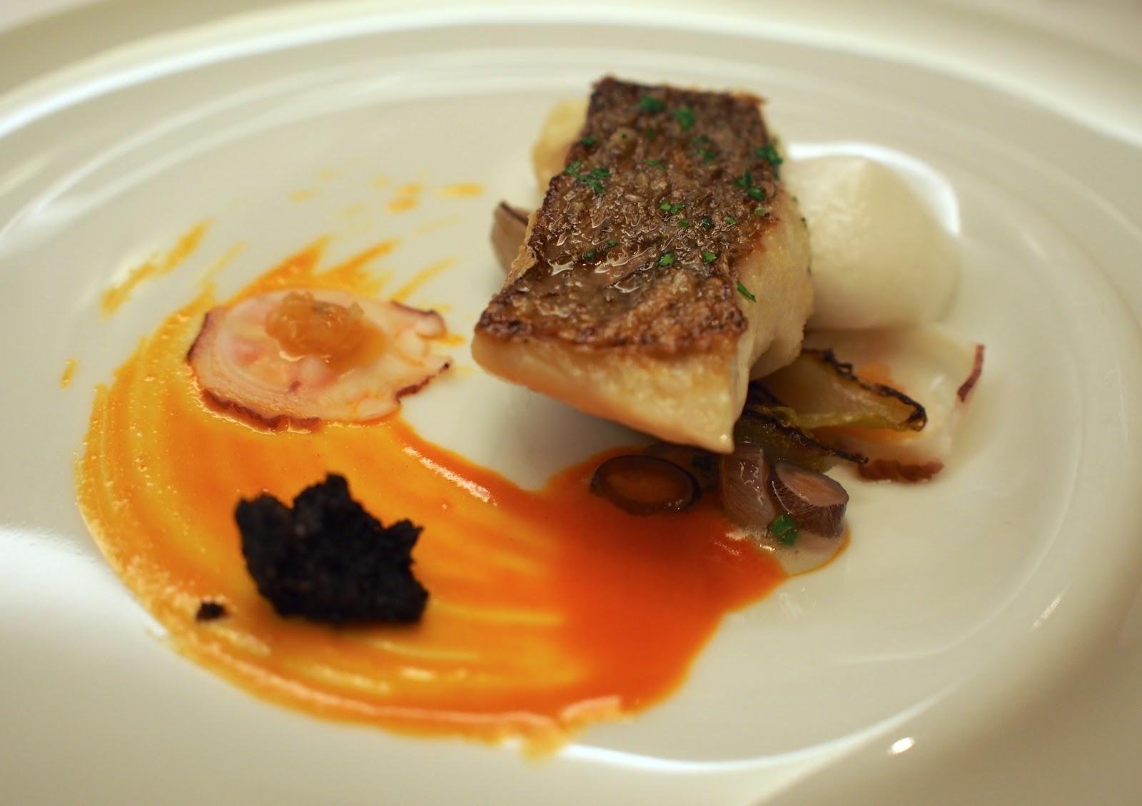 The Renaissance Epicurean...: dines at Lasarte, Barcelona