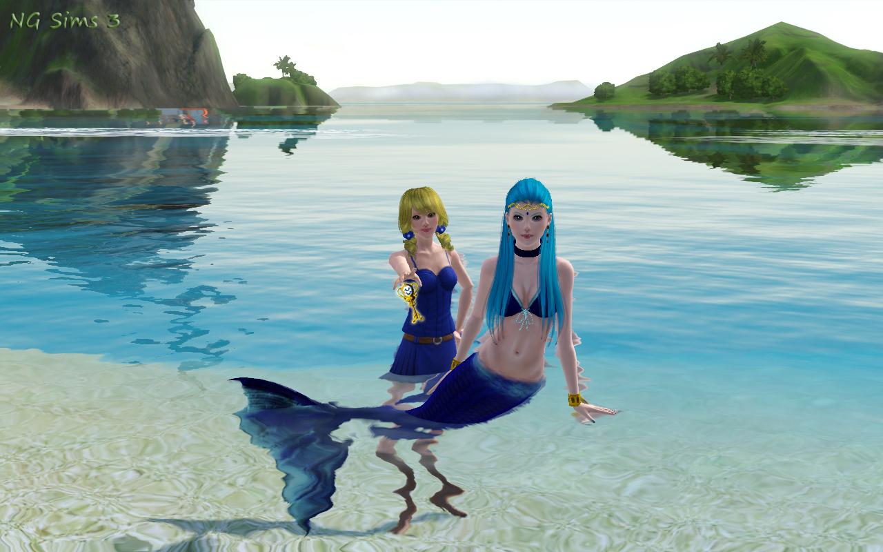 NG Sims 3: Aquarius - Fairy Tail Sims