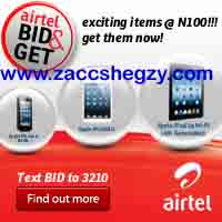Airtel bid and get service