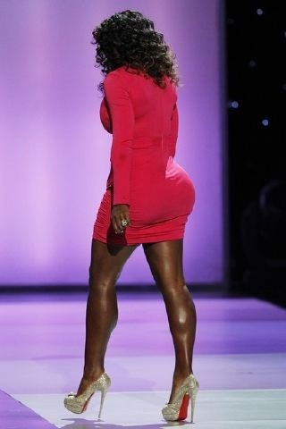ass booty williams Serena