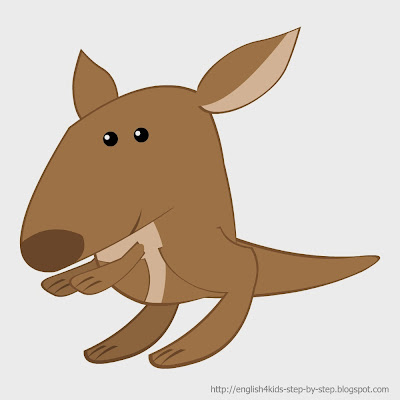 kangaroo clip art for teachers
